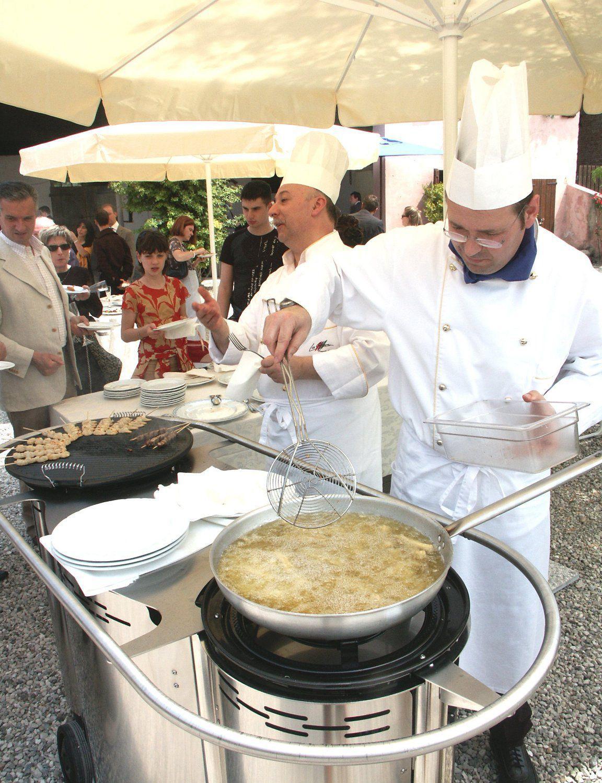 cuisine en inox / professionnelle / mobile / d'extérieur - bongos ... - Cuisine Professionnelle Mobile