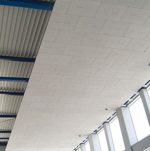Panneau de construction en plâtre / pour meuble / pour faux-plafond ...