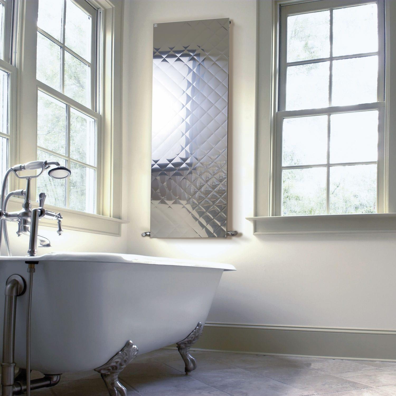 Radiateur à eau chaude / en métal / contemporain / de salle de bain ...
