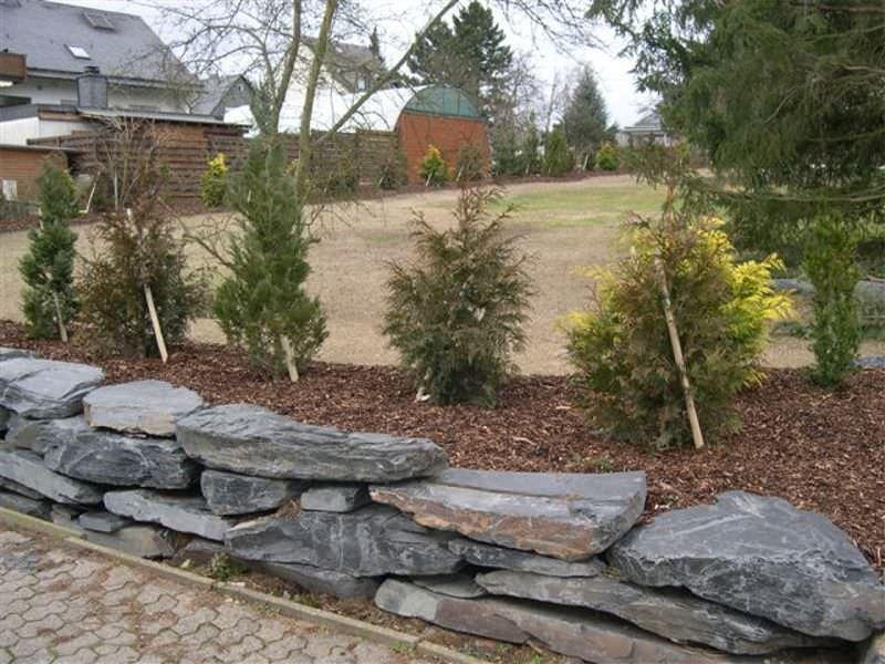 bordure de jardin / en pierre naturelle / autre forme - original