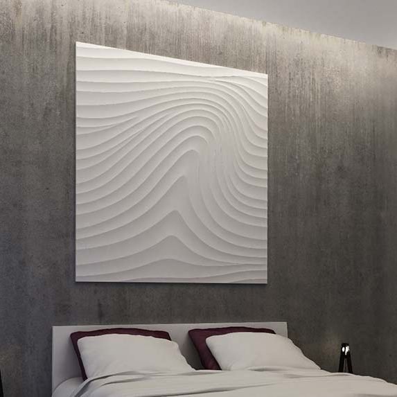 Panneau Decoratif En Platre Mural 3d Sculptural Artwork