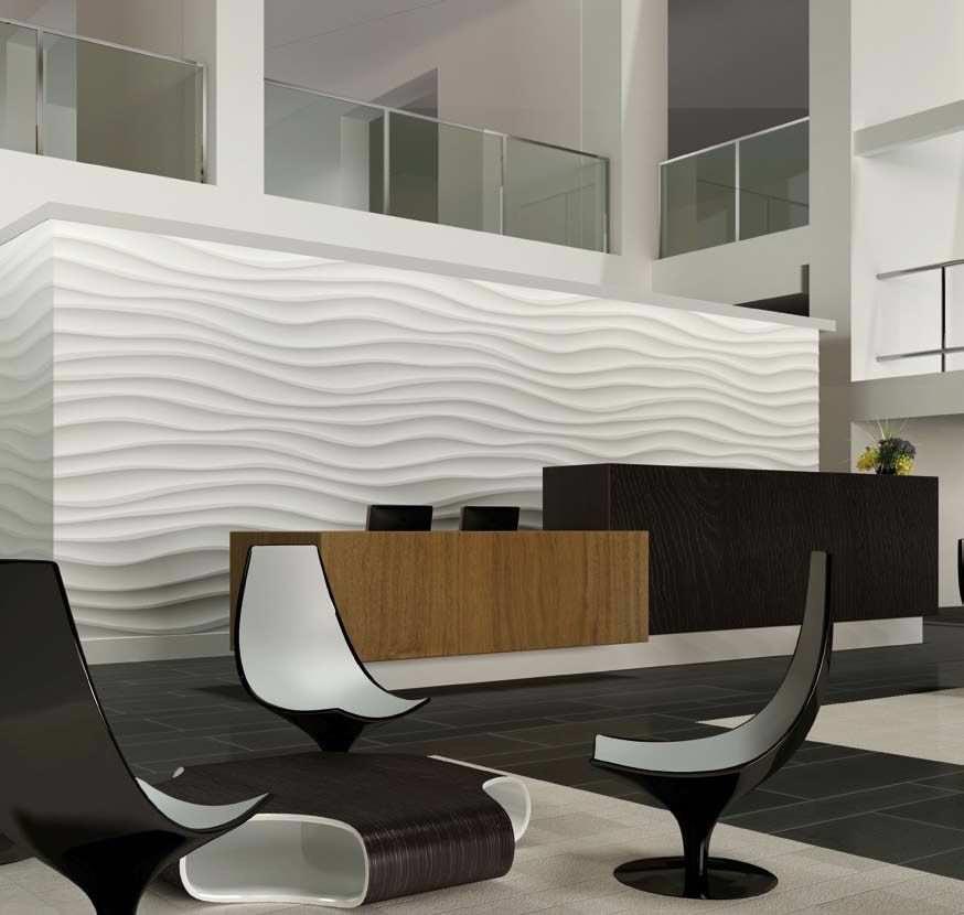 Amazing Panneau Décoratif En Plâtre / Composite / Mural / 3D   AESIS