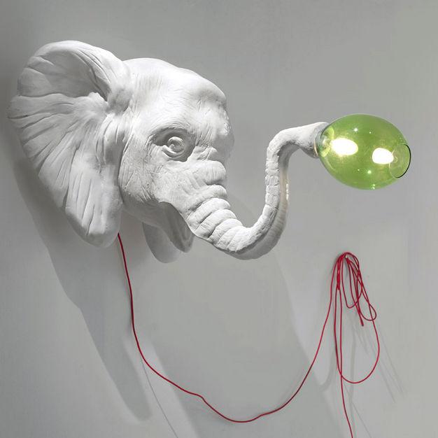 applique murale elephant