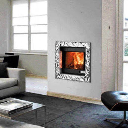 Habillage De Cheminee Contemporain En Inox En Aluminium 21000