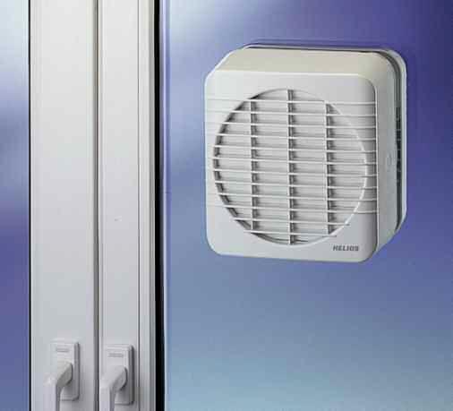 Ventilateur Extracteur De Fenêtre Résidentiel En Plastique