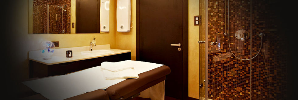 Mosaïque de salle de bain / murale / en verre / marron - MIX ...