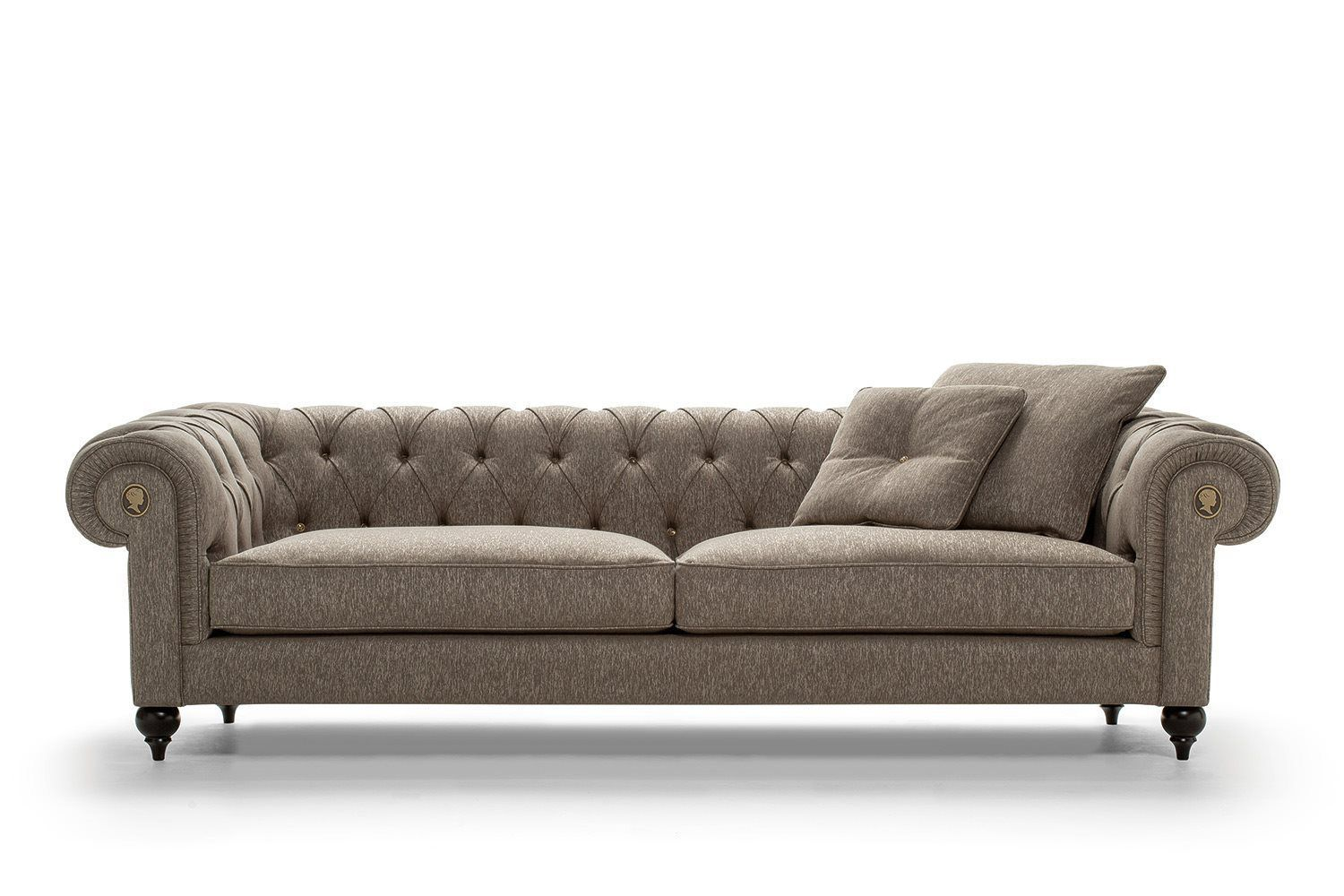 Favori Canapé chesterfield / en cuir / en tissu / 4 places - ALFRED by  JW21