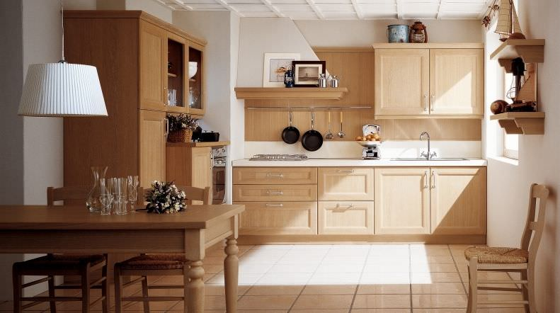 cuisine classique en bois massif en bois newport - Cuisine Classique En Bois Massif