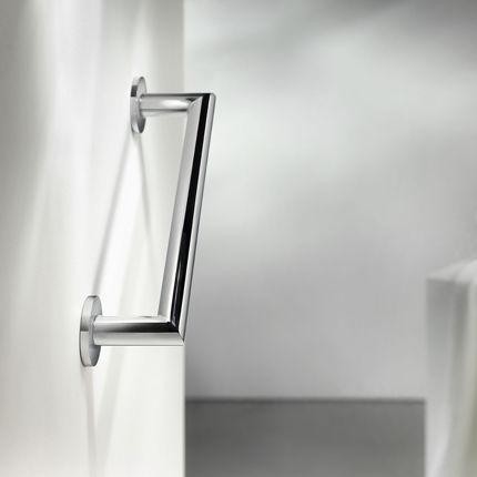 barre de maintien en laiton / droite / murale / pour salle de bain