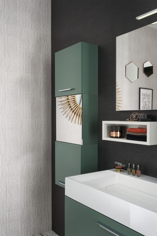 Salle de bain contemporaine / en composite - UNIQUE Sweet vert ...