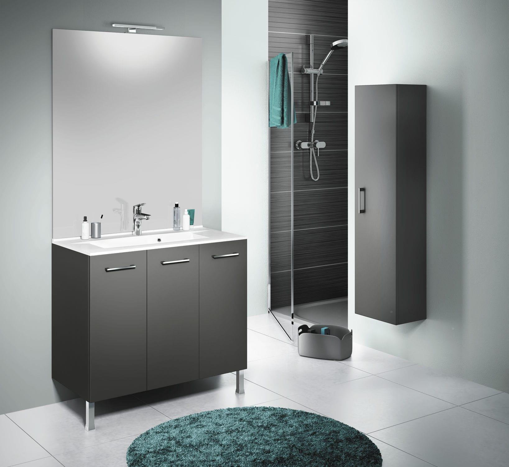 Meuble Salle De Bain Delpha Urban Pro ~ meuble vasque poser en m lamin contemporain urban pro