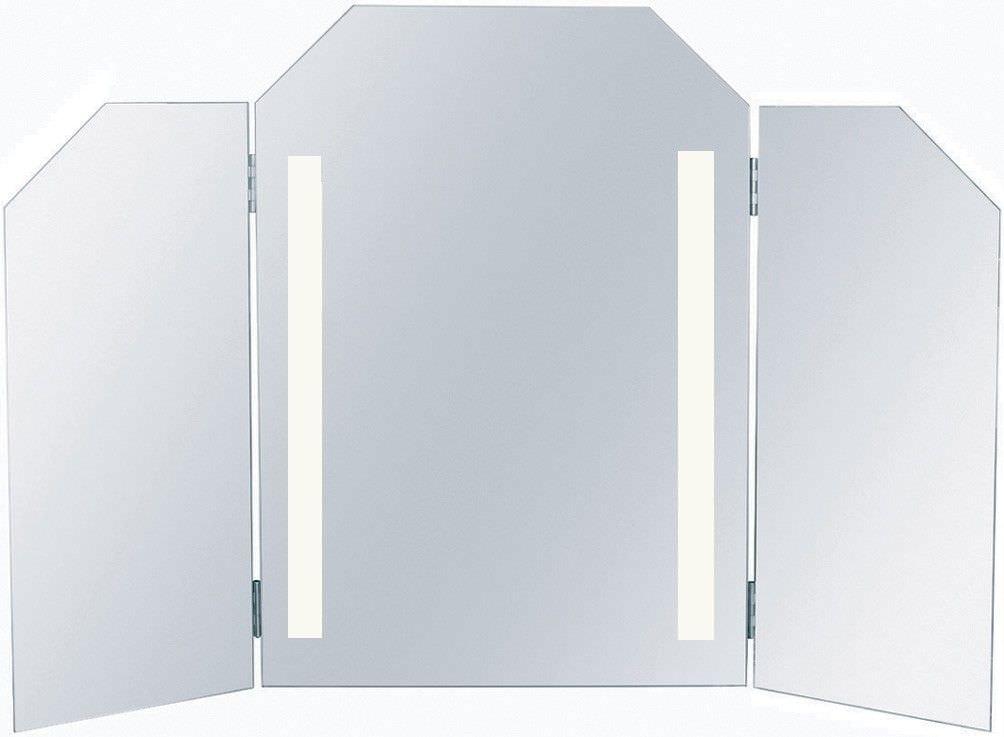 miroir de salle de bain mural lumineux contemporain versailles - Miroir Mural Salle De Bain