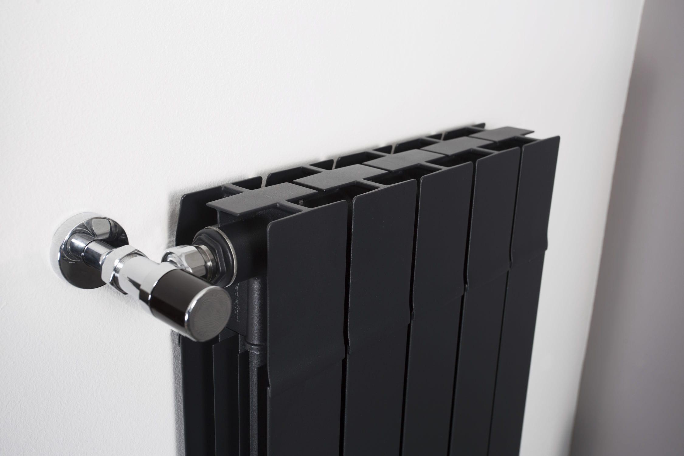 Puissance Radiateur Eau Chaude Salle De Bain ~ radiateur eau chaude en aluminium contemporain vertical