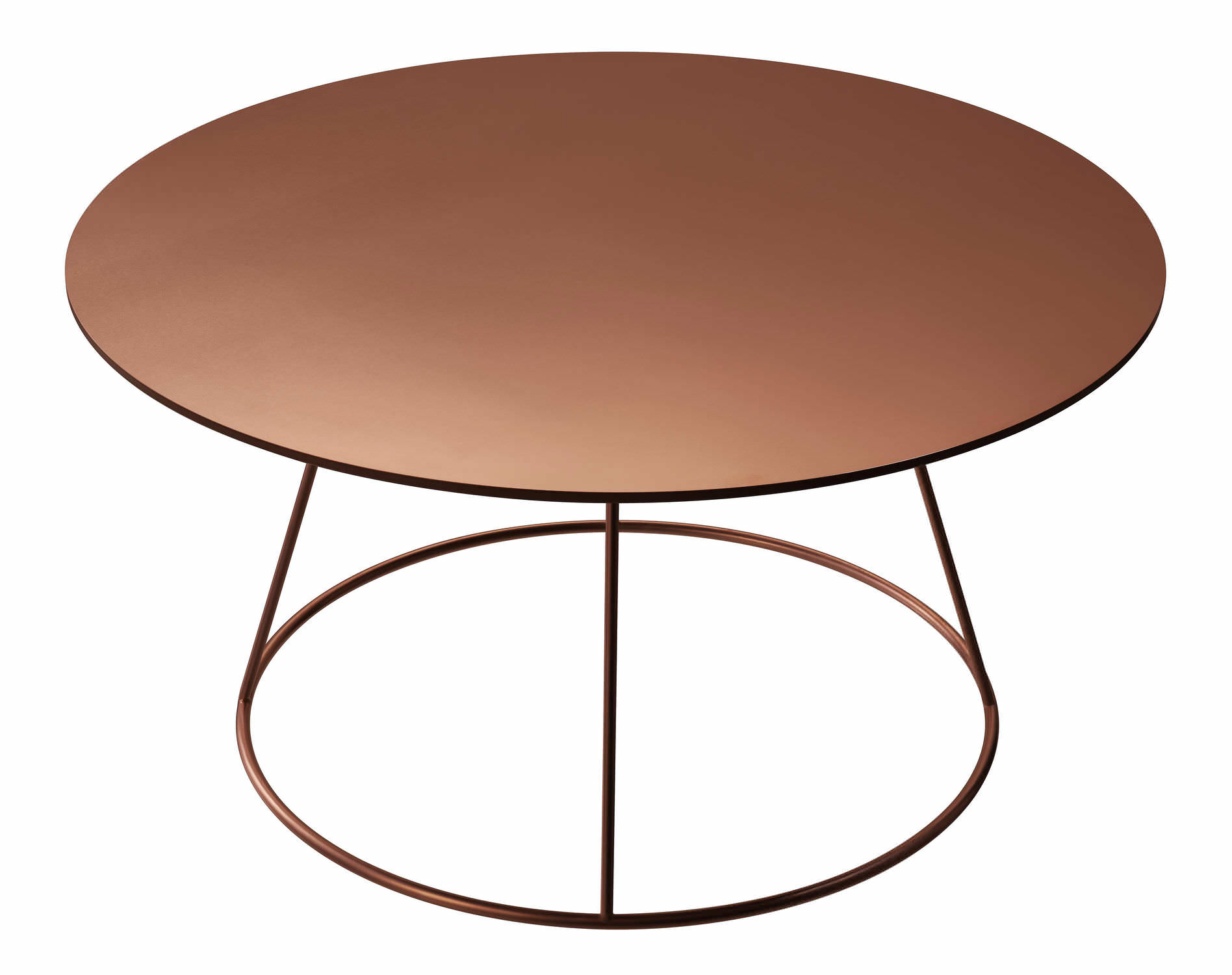 pied table cuivre