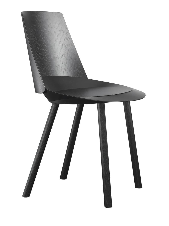 Chaise de salle à manger / contemporaine / en chêne / en ...