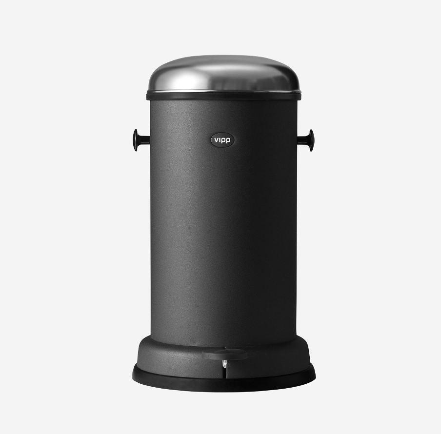 Poubelle Vipp poubelle de salle de bain / en acier / en inox / à pédale - vipp15