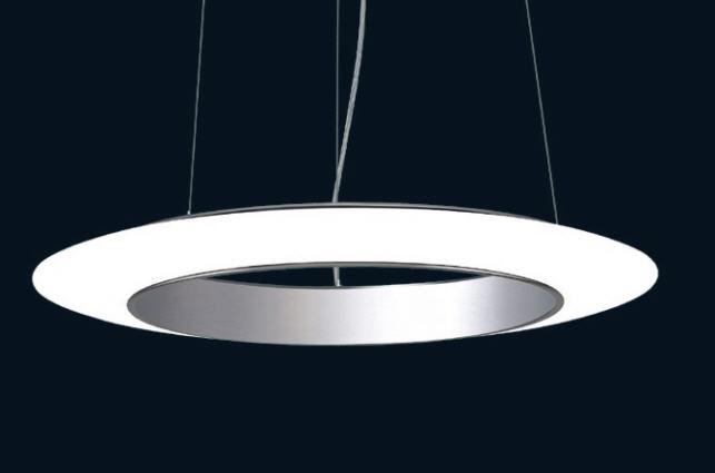 lampe suspension design original en verre led ring of fire by helmut heinrich - Suspension Design Led