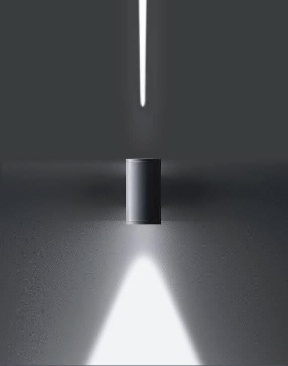 Applique Murale Contemporaine / D'Extérieur / En Aluminium / En