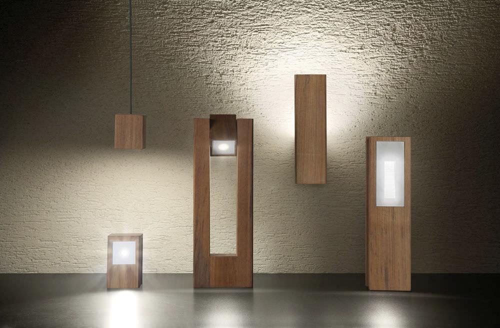 luminaire exterieur bois