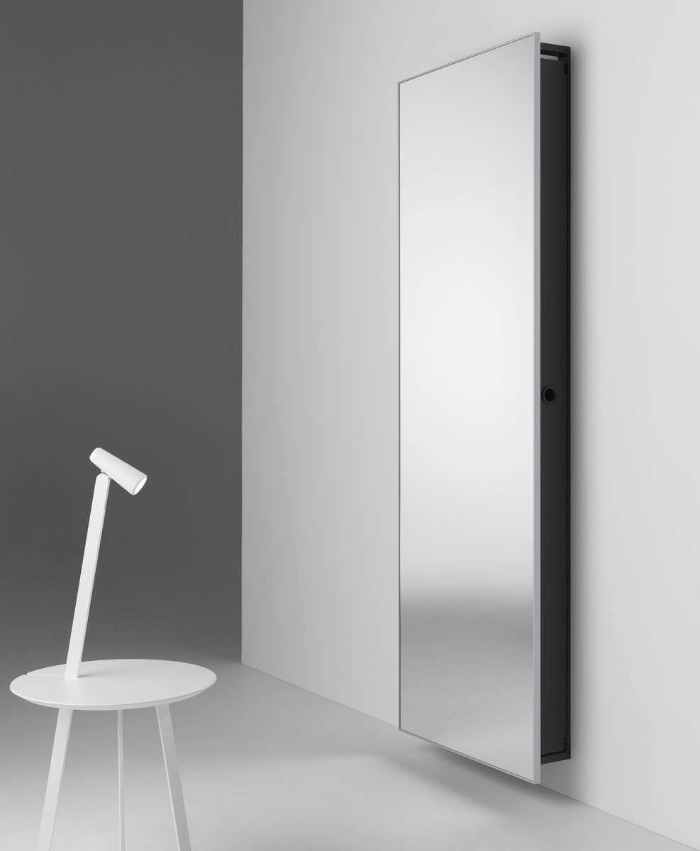 Miroir mural / avec rangement / contemporain / rectangulaire ...