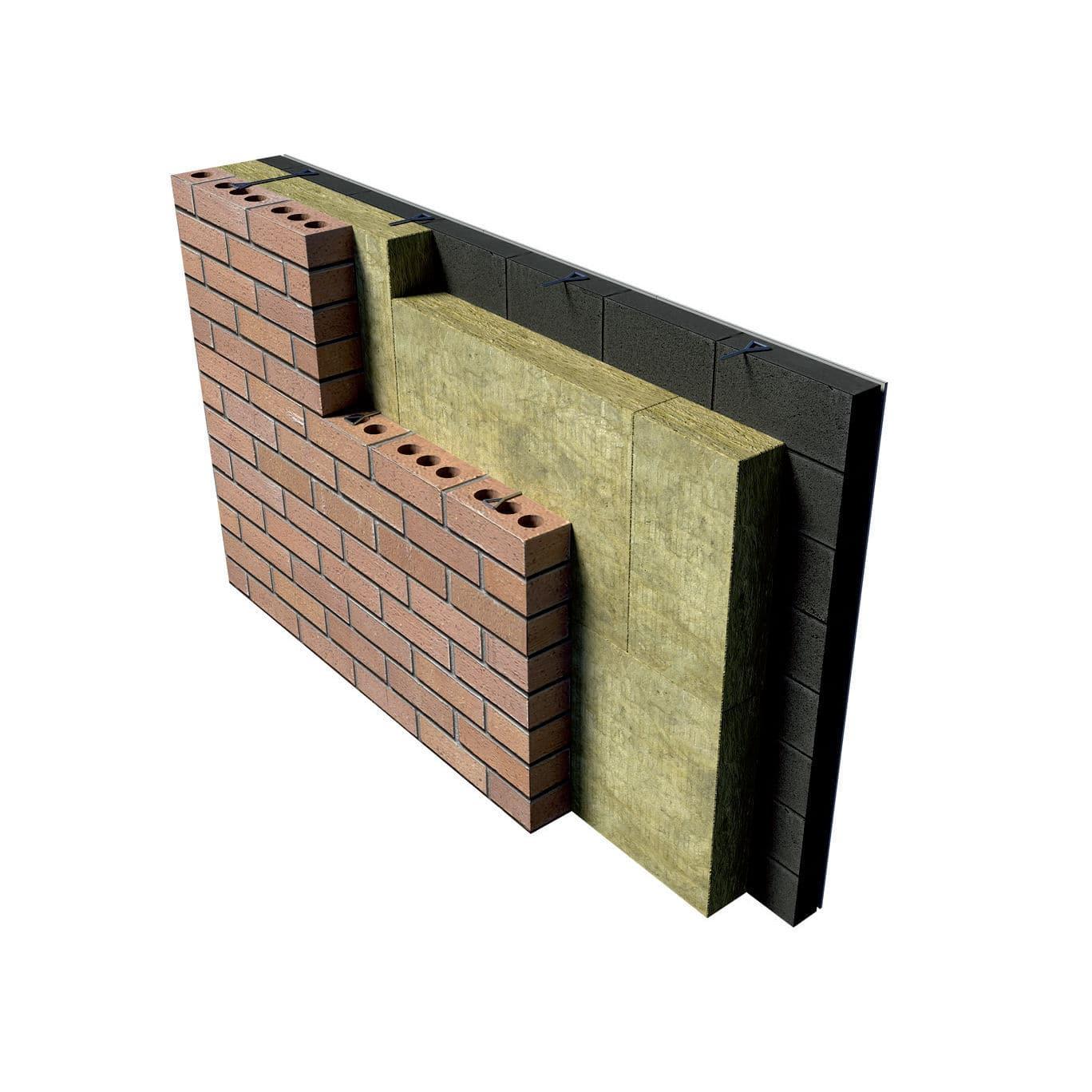 Laine de roche mur