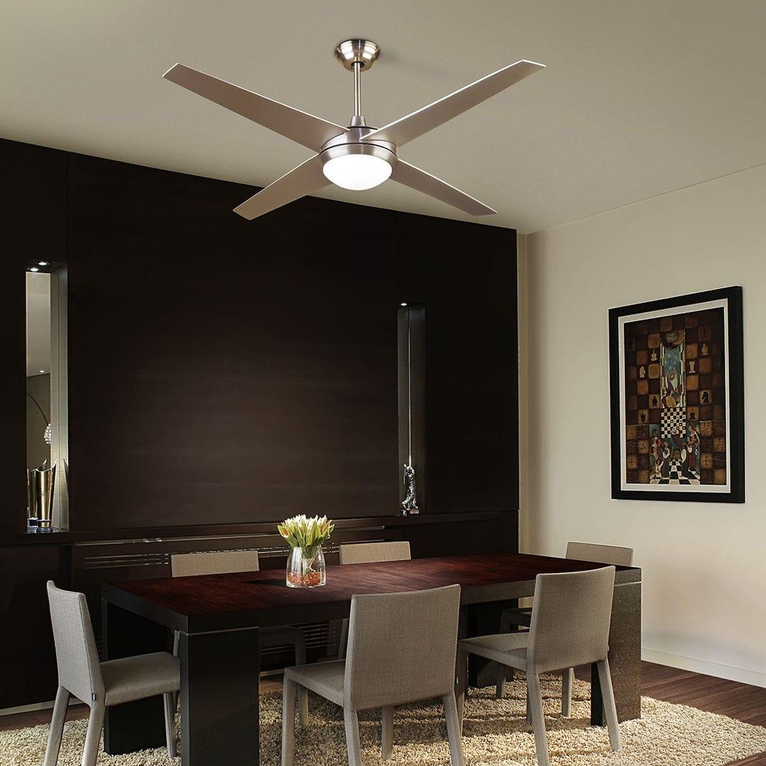 Ventilateur Au Plafond Residentiel En Aluminium En