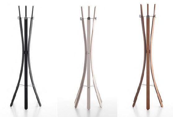 Porte Manteau Sur Pied Design Original En Bois Isak By Enzo