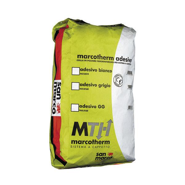 Mortier De Ciment / De Ragréage / Autolissant / Pour Isolation Thermique  Par Lu0027extérieur ITE   MARCOTHERM ADESIVO