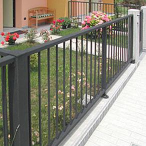 Clôture de jardin / à barreaudage / en métal - STYLE - GRIDIRON
