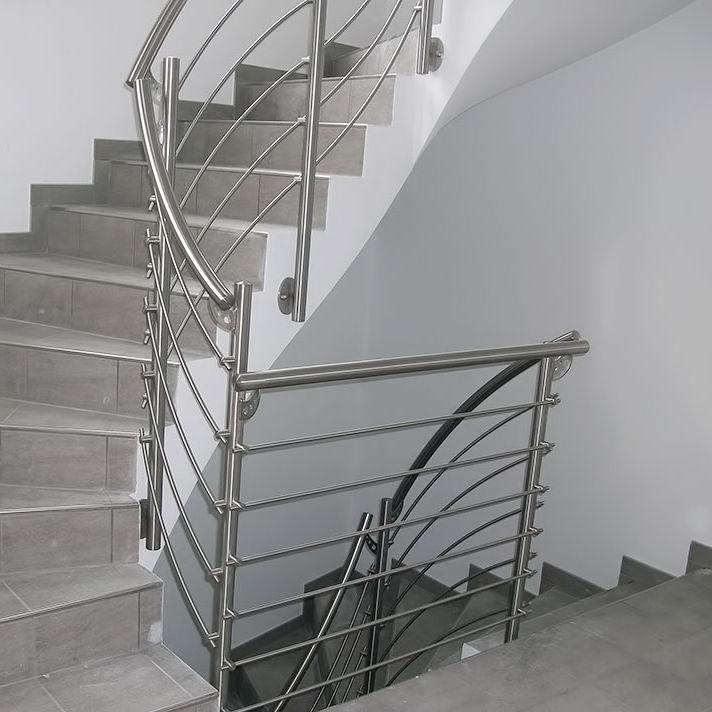 Agreable Garde Corps En Inox / à Barreaux / Du0027intérieur / Pour Escalier   100_0302