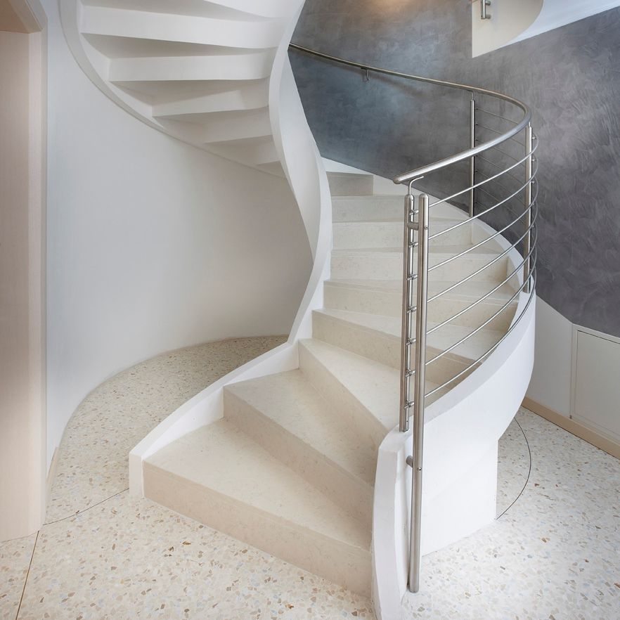 escalier en colimacon en beton