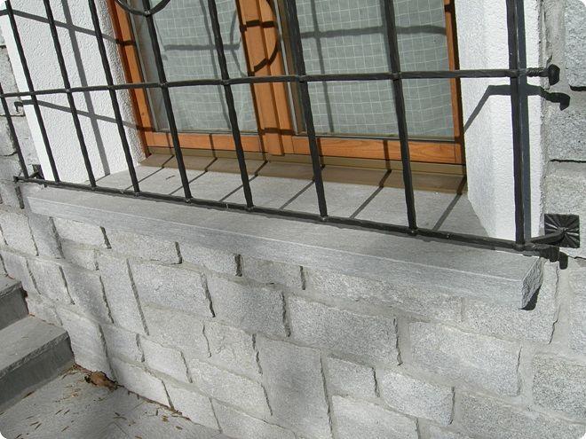 Appui De Fenêtre En Pierre Naturelle Dextérieur Graniti Conrad