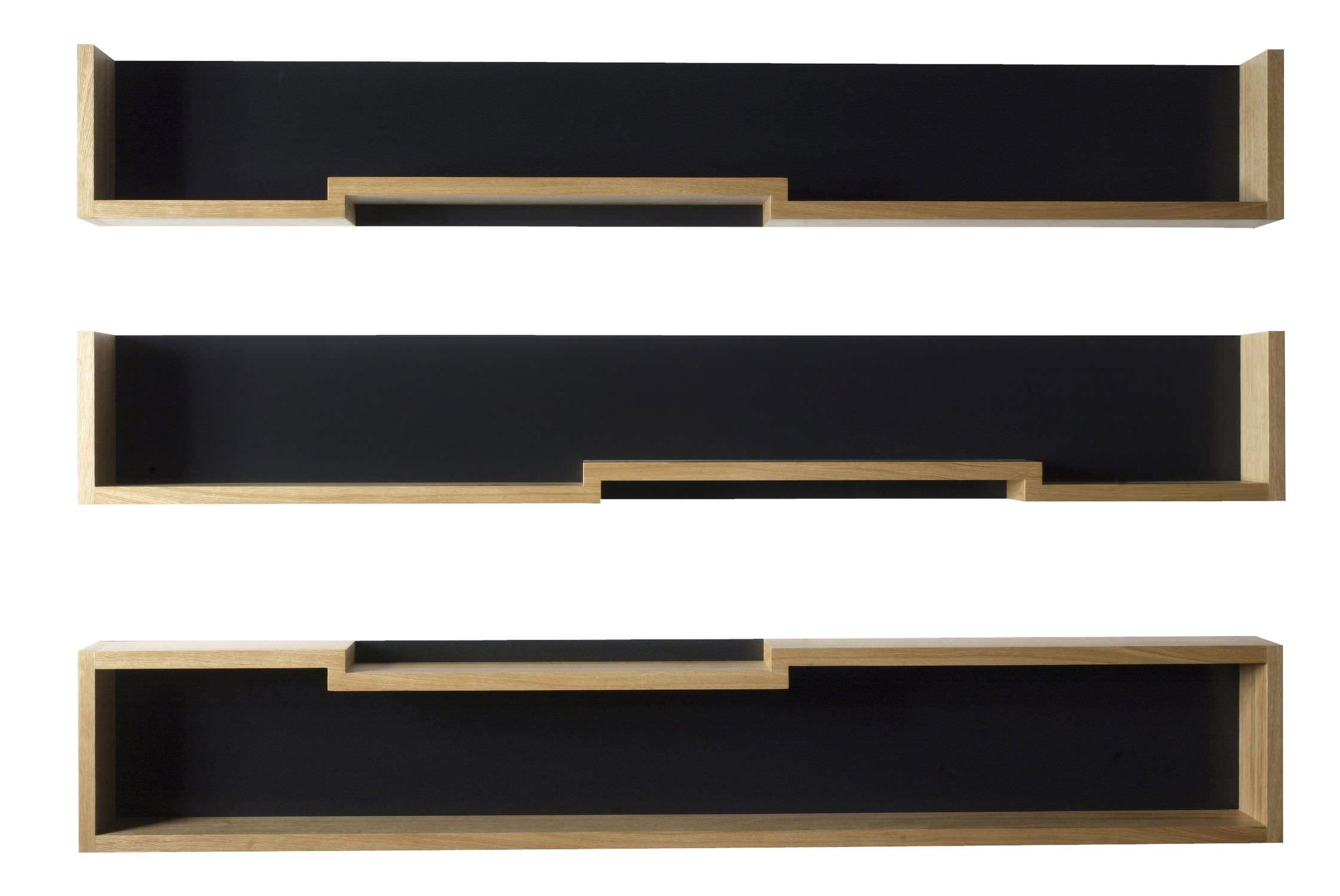 etagere horizontale bois