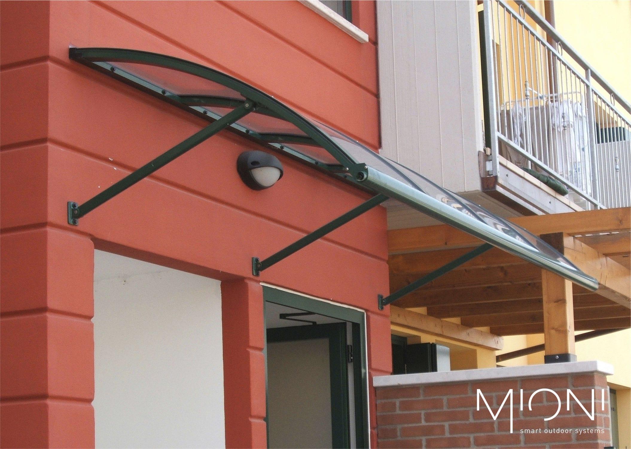 Auvent Pour Porte Dentrée Pour Fenêtre En Aluminium Scudo