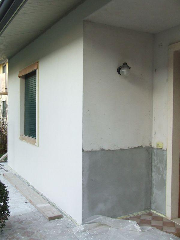 Platre exterieur facade