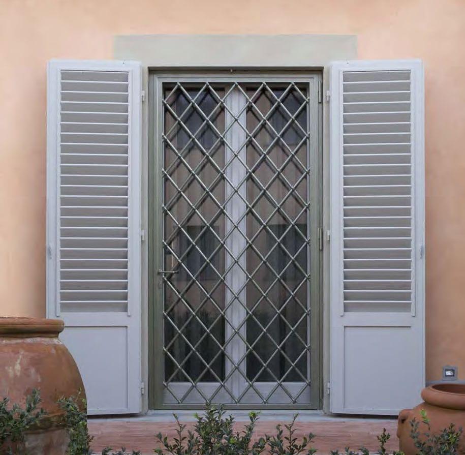 Grille De Défense Amovible Pour Porte Pour Fenêtre Cipriani