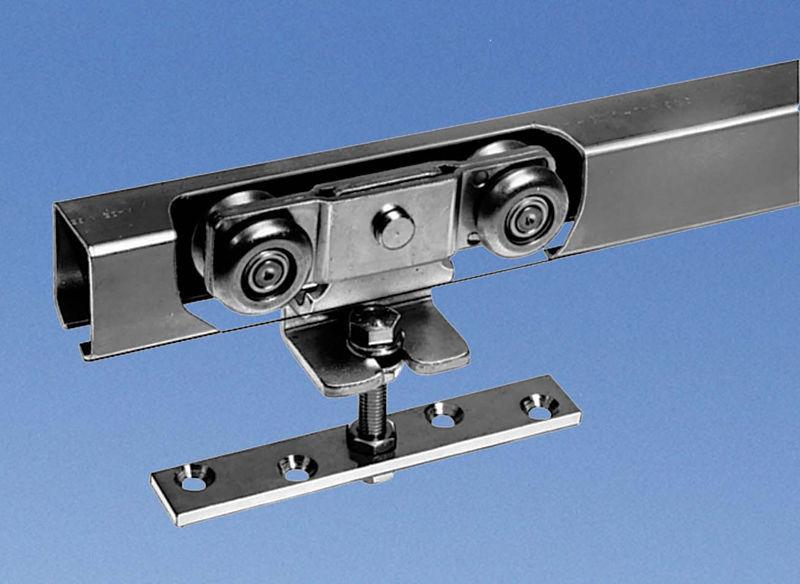 galet rail porte coulissante système à galandage pour porte coulissante en verre - APOLL