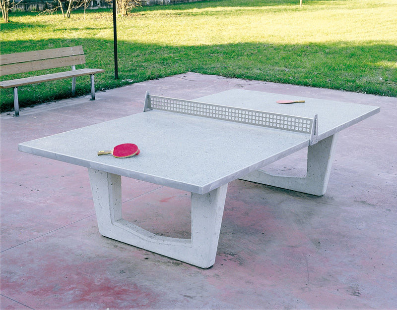 table de ping-pong pour usage extérieur / pour aire de jeux