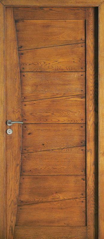 Portes intérieures bois massif