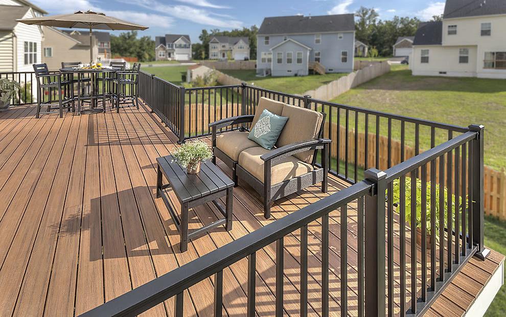 Garde-corps en aluminium / à barreaux / d\'extérieur / pour terrasse ...