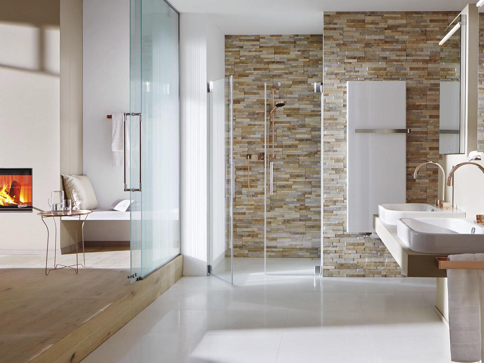 salle de bain plaquette de parement destin plaquette de parement en grs crame colore 100 recyclable - Salle De Bain Avec Pierre De Parement
