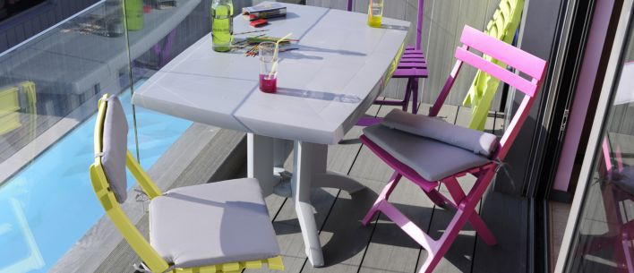 Emejing Table De Jardin Vega Ronde Photos - Awesome Interior Home ...