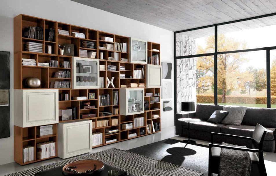Bibliothèque contemporaine / en bois - COMPOSIZIONE 6 VINTAGE ...