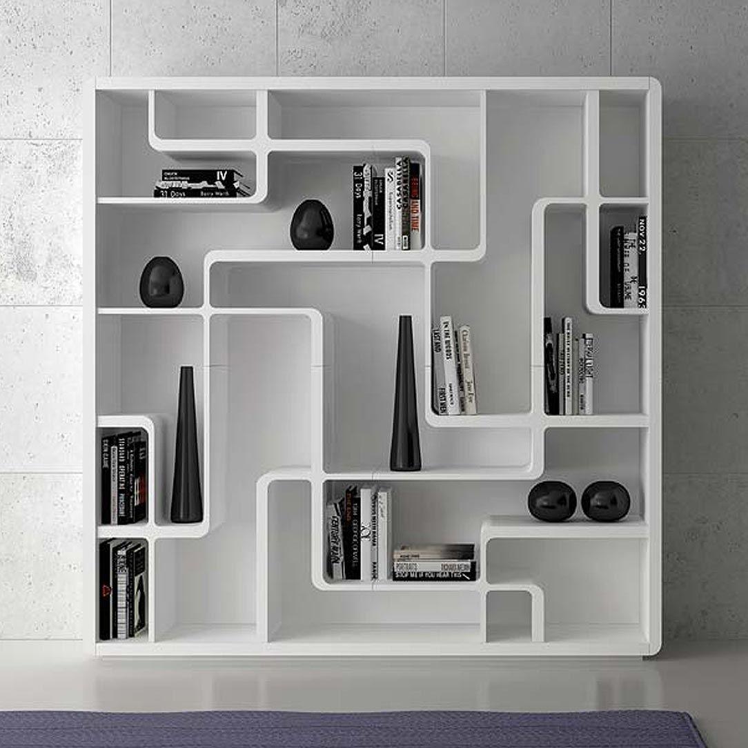 Bibliothèque contemporaine / en chêne - SNAKE by Giuseppe Bavuso ...
