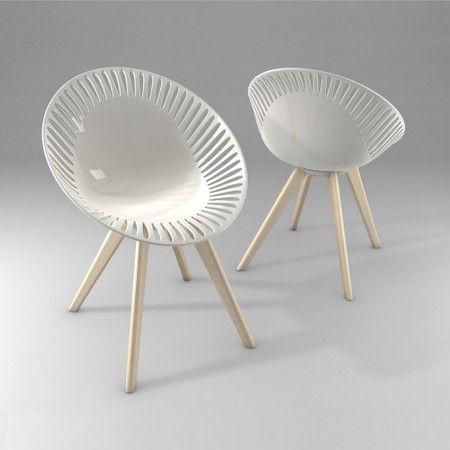 Chaise Design Original En Polycarbonate