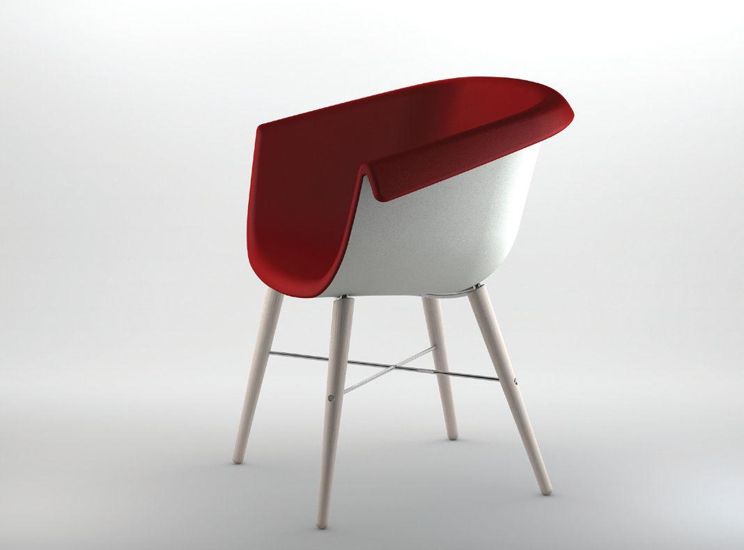 Connu Chaise contemporaine / avec accoudoirs / tapissée / en tissu  UY23