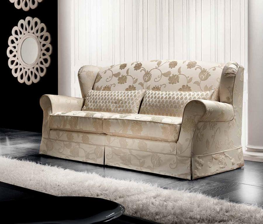 Canapé classique / de style cottage / en tissu / 2 places - MOON - Cava