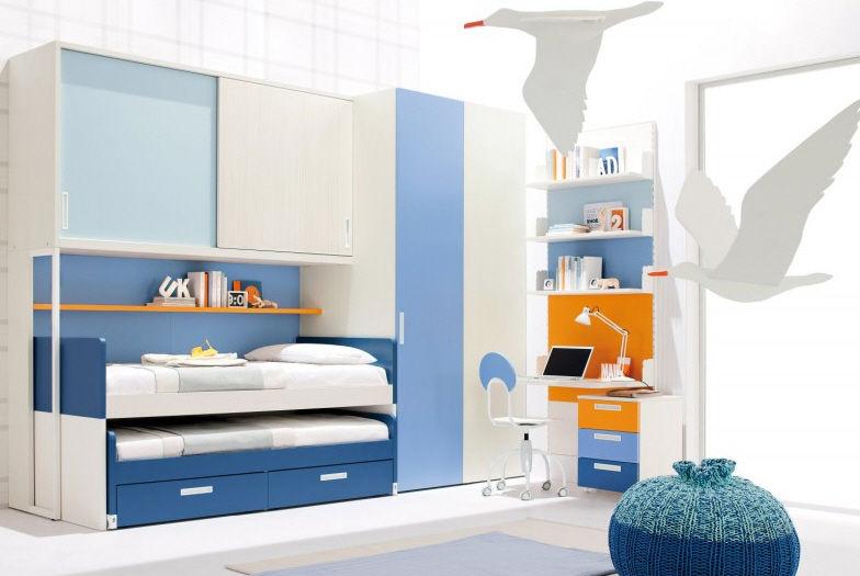 Chambre DEnfant Bleue  Pour Garon  Start   Clever