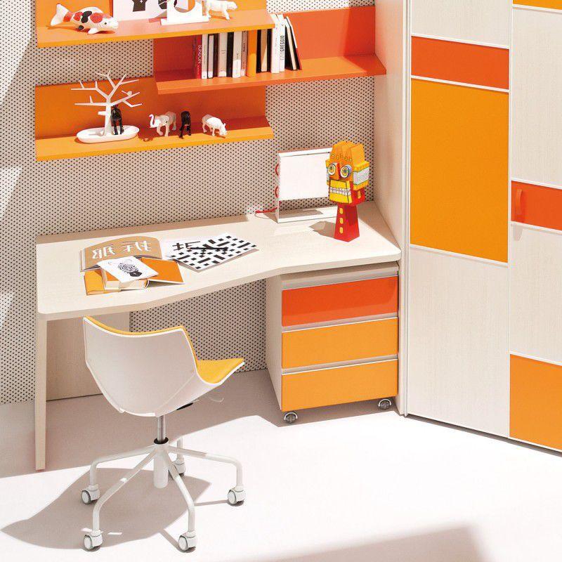Chaise de bureau contemporaine pour enfant pitement toile