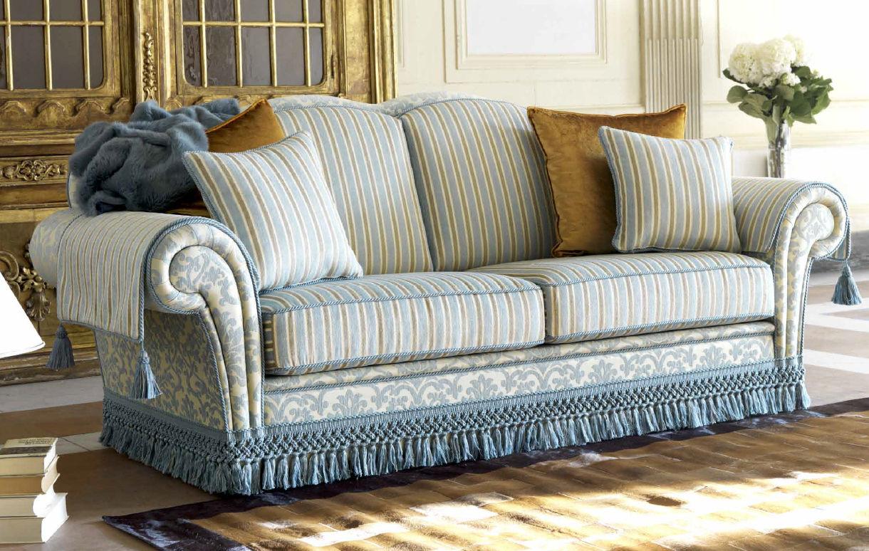 Canapé Classique De Style Cottage En Coton Places ARTHUR - Canapé classique